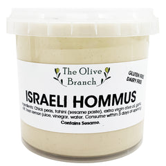 The Olive Branch Dips Israeli Hommus | Harris Farm Online