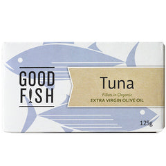Good Fish Tuna Fillets in Organic Extra Virgin Olive Oil | Harris Farm Online