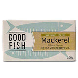 Good Fish Mackerel Fillets in Organic Extra Virgin Olive Oil | Harris Farm Online