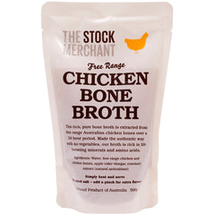 The Stock Merchant - Bone Broth - Chicken Free Range (500g)