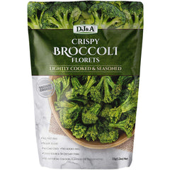 DJ & A - Crispy Broccoli Florets - Lightly Cooked & Seasoned | Harris Farm Online