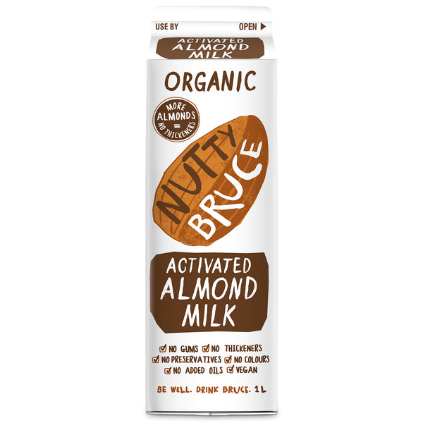 Nutty Bruce Organic Activated Almond Milk 1L
