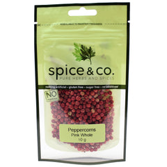 Spice & Co (10g) Peppercorns Pink Whole