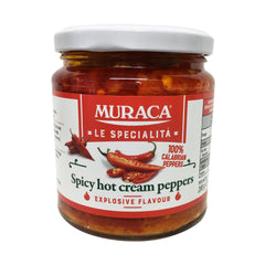 Muraca - Spicy Hot Cream Peppers (314g)