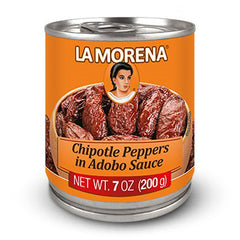 La Morena - Chipotle Peppers in Adobo Sauce (200g)