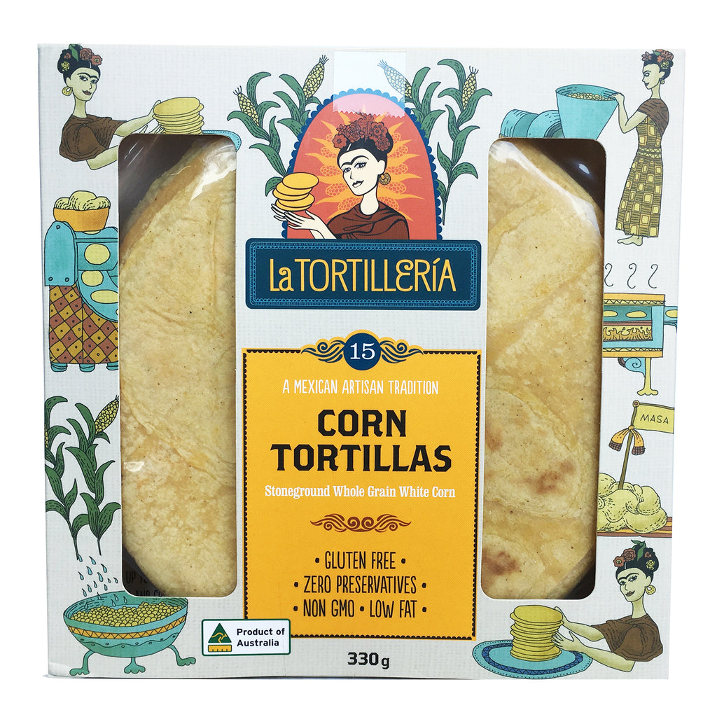 Buy La Tortilleria Corn Tortillas Gluten Free 330g From Harris Farm Online Harris Farm Markets