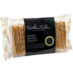 Trentham Tucker - Biscuits Lavosh - Rosemary & Sea Salt (250g)