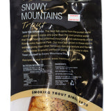 Trout Premium Wood Smoked Whole 400g Snowy Mountains , Frdg3-Seafood - HFM, Harris Farm Markets  - 2