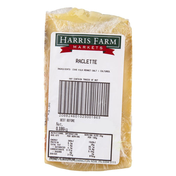 Raclette 110-150g , Frdg1-Cheese - HFM, Harris Farm Markets  - 2