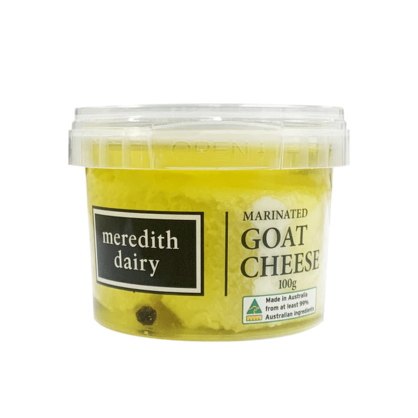 Meredith Dairy Marinated Goat Cheese | Harris Farm Online