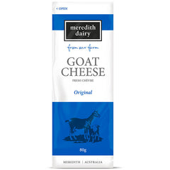 Meredith Dairy - Goat Cheese - Fresh Che'vre - Original | Harris Farm Online