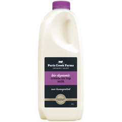 Paris Creek Farms Bio-Dynamic Cream On Top Milk | Harris Farm Online