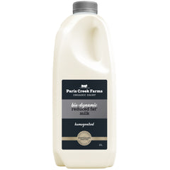 Paris Creek Farms Bio-Dynamic Reduced Fat Milk | Harris Farm Online