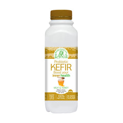 Babushka Yoghurt Probiotic Kefir Milk and Honey 500g