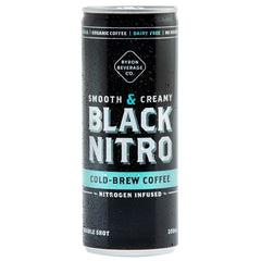 Black Nitro - Coffee Cold Brew - Double Shot (250mL)