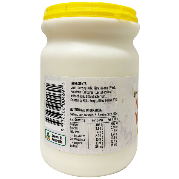 Harris Farm - Yoghurt Natural - with Honey - Pot Set (500g)