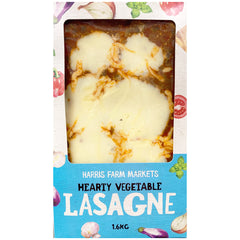 Harris Farm Lasagne Hearty Vegetable 1.6kg
