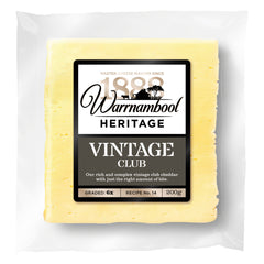 Cheddar - Vintage Club (200g) Warrnambool
