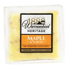Cheddar - Maple and Toffee (200g) Warrnambool
