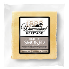 Cheddar - Smoked Club (200g) Warrnambool