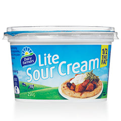 Dairy Farmers - Sour Cream- Lite | Harris Farm Online