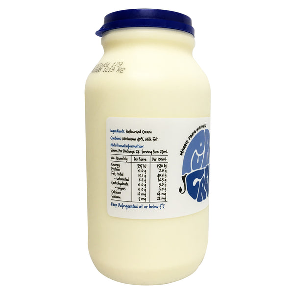 Harris Farm - Cream Pure (600mL)