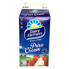 Dairy Farmers - Cream Pure (600ml)