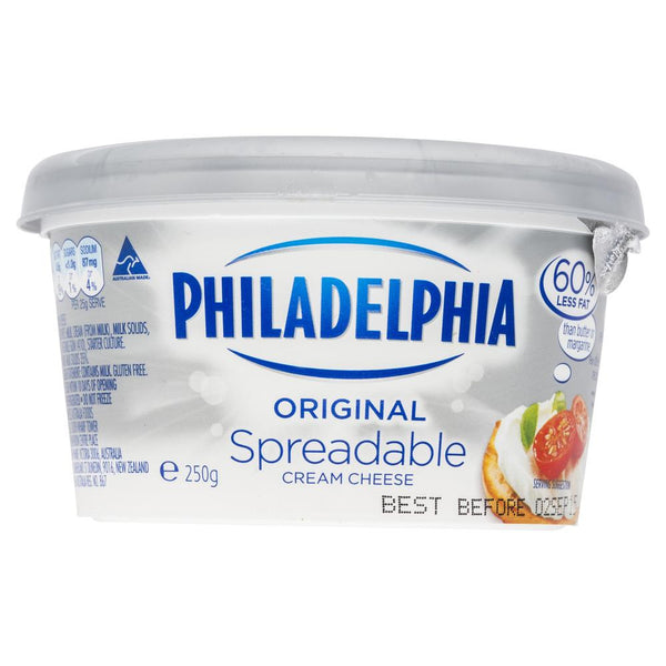 Philadelphia Original Spreadable Cream Cheese 250g , Frdg1-Cheese - HFM, Harris Farm Markets  - 3