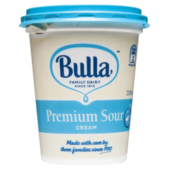Bulla Sour Cream 200mL , Frdg2-Dairy - HFM, Harris Farm Markets  - 1