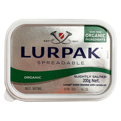 Lurpak - Butter Slightly Salted - Organic Spreadable (200g)
