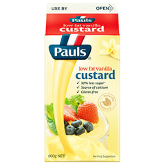 Pauls - Custard Vanilla (600mL)