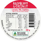 Harris Farm - Yoghurt Raspberry & Coconut (350g)