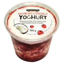 Harris Farm - Yoghurt - Raspberry & Coconut | Harris Farm Online