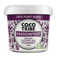 Coco Tribe - Yoghurt Coconut - Passionfruit Organic (300g)