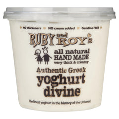 Ruby & Roy's Yoghurt Vanilla Bean Greek Divine 700g , Frdg2-Dairy - HFM, Harris Farm Markets  - 1