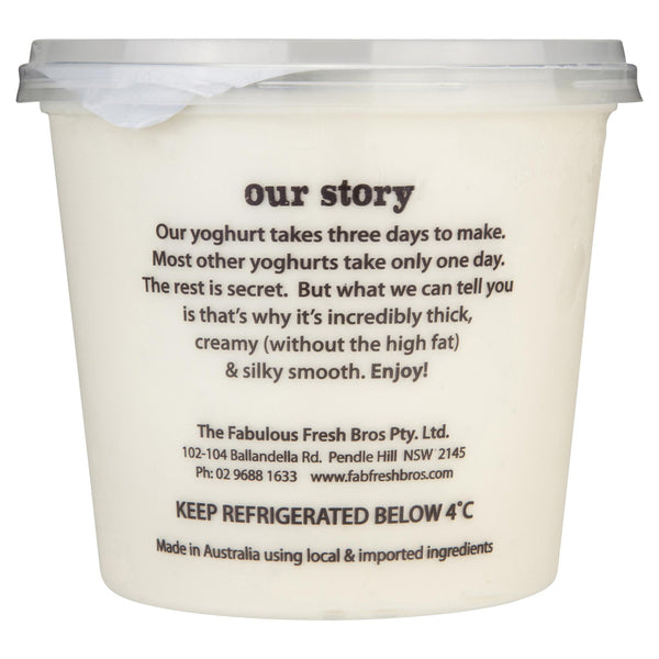 Ruby & Roy's Yoghurt Vanilla Bean Greek Divine 700g , Frdg2-Dairy - HFM, Harris Farm Markets  - 2