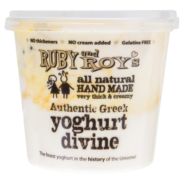 Ruby And Roys Yoghurt Divine Passionfruit 700g , Frdg2-Dairy - HFM, Harris Farm Markets  - 2