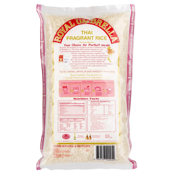 Royal Umbrella Thai Jasmine Rice 1kg , Grocery-Asian - HFM, Harris Farm Markets  - 2