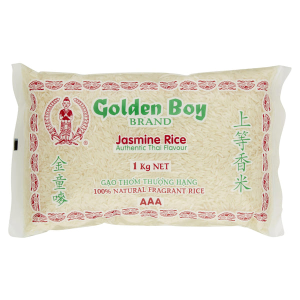 Golden Boy Jasmine Rice 1kg , Grocery-Cooking - HFM, Harris Farm Markets  - 1