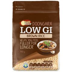 SunRice Doongara Low GI White Rice 750g