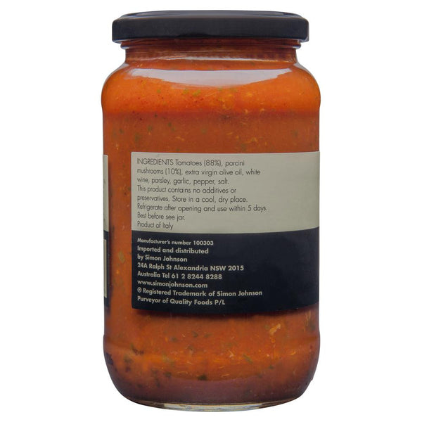 Simon Johnson Pasta Sauce Porcini 560g , Grocery-Pasta - HFM, Harris Farm Markets  - 3