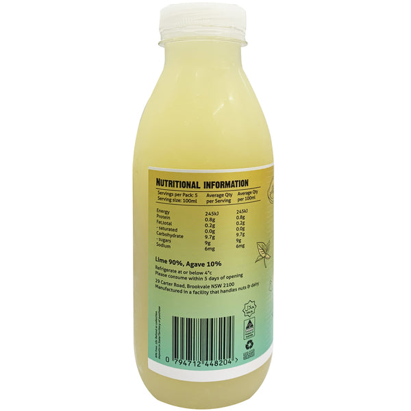 Mixa Cold Pressed Lime and Agave Juice | Harris Farm Online