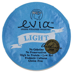 Evia Strained Greek Yoghurt Thick Lite Tropical 170g , Frdg2-Dairy - HFM, Harris Farm Markets  - 2