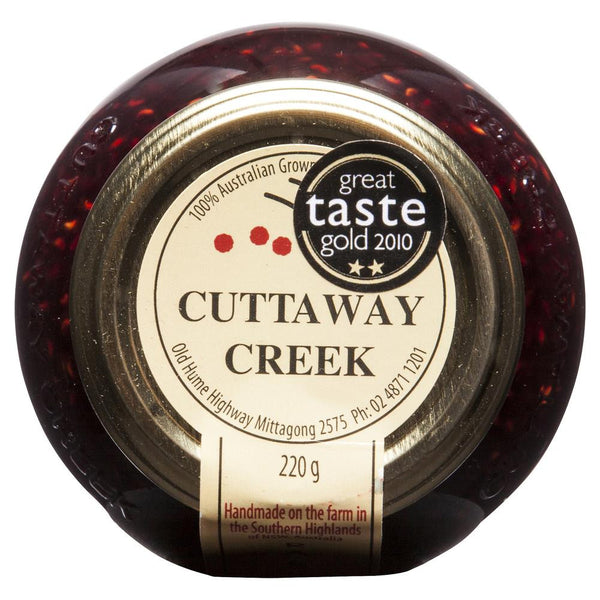 Cuttaway Raspberry Jam 220g , Grocery-Condiments - HFM, Harris Farm Markets  - 2
