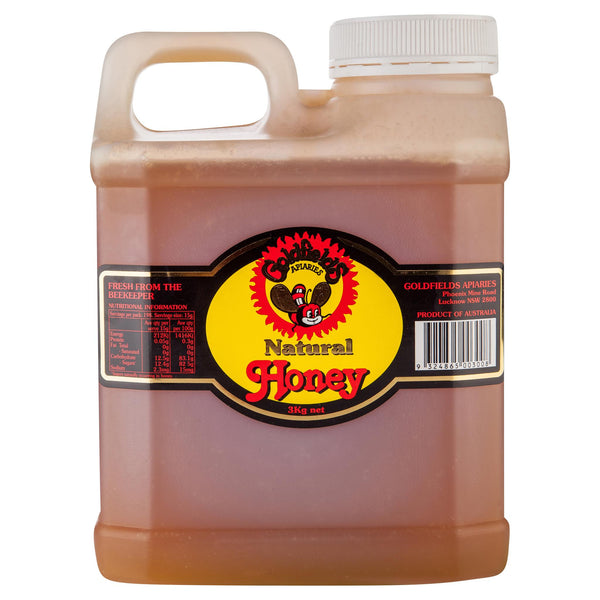 Goldfield Honey 3kg , Grocery-Spreads - HFM, Harris Farm Markets  - 2