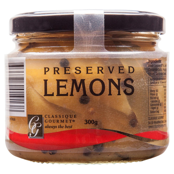 Classique Preserved Lemons 300g , Grocery-Can or Jar - HFM, Harris Farm Markets  - 1