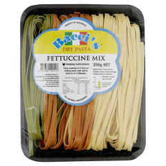 Baccis Fettuccini Mix 250g , Grocery-Pasta - HFM, Harris Farm Markets