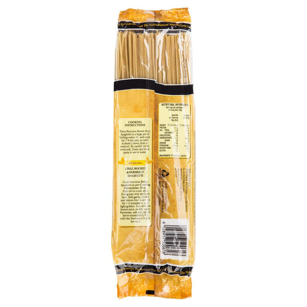 Berconia Brown Rice Spaghetti No3 350g , Grocery-Pasta - HFM, Harris Farm Markets  - 2