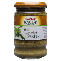 Sacla Pesto Wild Rocket 190g , Grocery-Pasta - HFM, Harris Farm Markets  - 1
