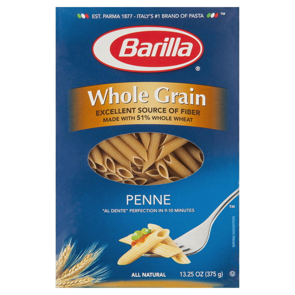 Barilla Wholemeal Penne 375g , Grocery-Pasta - HFM, Harris Farm Markets  - 1